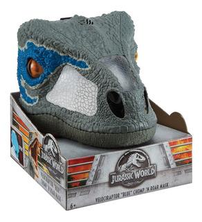 Máscara Eletrônica - Jurassic World 2 - Velociraptor - Matte