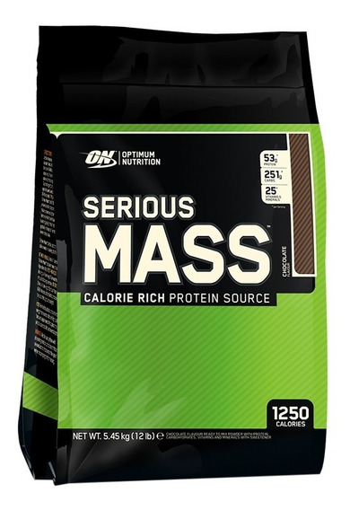 Proteina Ganador Optimum Nutrition Serious Mass 12 Lb