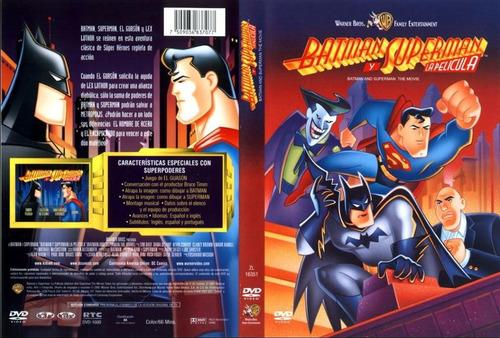 Imagen 1 de 1 de Batman Y Superman La Pelicula Dvd Original Solo Envios