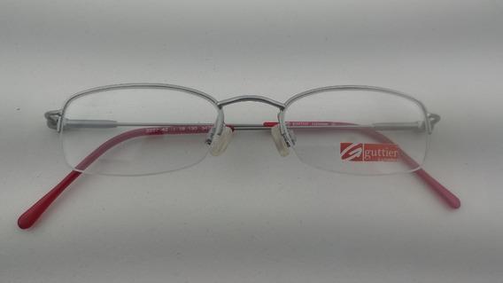 Óculos #receituário Infantil Fio Nylon Metal #guttier 2227i