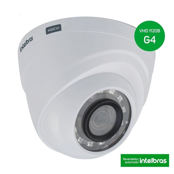 Câmera Ir20 2.6mm Multi Hd Vhd 1120 Dome G4 - Intelbras