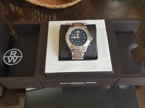 Raymond Weil Mod.8200 De 44mm Estuche Reloj Doble Horario