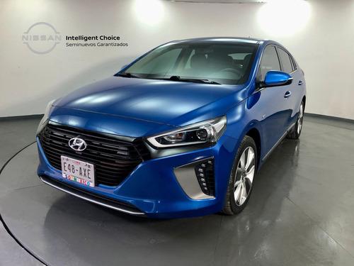 Imagen 1 de 15 de Hyundai Ioniq 2018 Gls Limited Híbrido Piel At