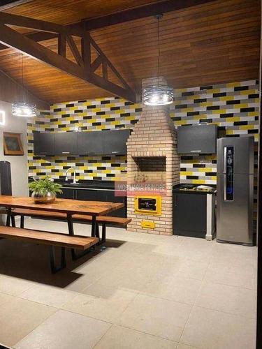 Imagem 1 de 15 de Sobrado Com 4 Dormitórios À Venda, 390 M² Por R$ 2.800.000 - Residencial Dois (tamboré) - Santana De Parnaíba/sp - So0023