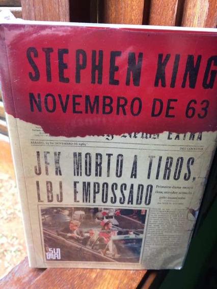 Livro Novembro De 63 Stephen King Lacrado
