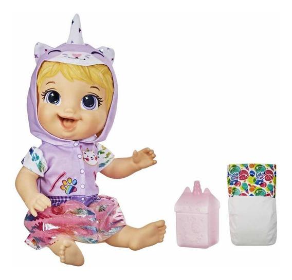 Nova Baby Alive Fantasia Unicórnio Minicornio Loora Hasbro