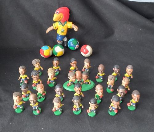 Futebol-coleçao De Mini Craques Da  Seleção 98.