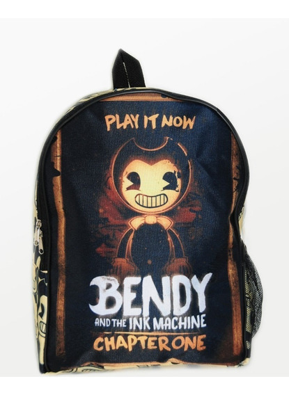 Mochila Bendy Toda Estampada, Unica En Mercado