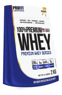 Whey Protein 100% Concentrado Premium 2kg - Profit Labs