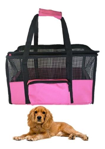Maletín Cargador Guacal Grande Para Transportar Perro Y Gato