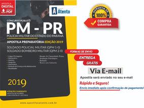 Apostila Pm-pr Soldado - Preparatória - Edição 2019 ...