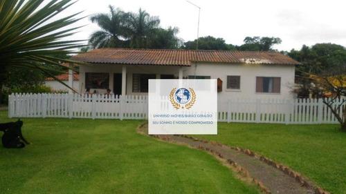 Sítio Com 5 Dormitórios À Venda, 24000 M² Por R$ 3.500.000,00 - Loteamento Chácaras Vale Das Garças - Campinas/sp - Si0011
