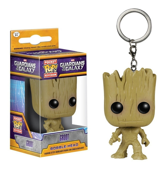 Guardiões Da Galáxia 2 Chaveiro Keychain Groot Funko