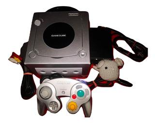Consola Gamecube Plata Juego Gratis.