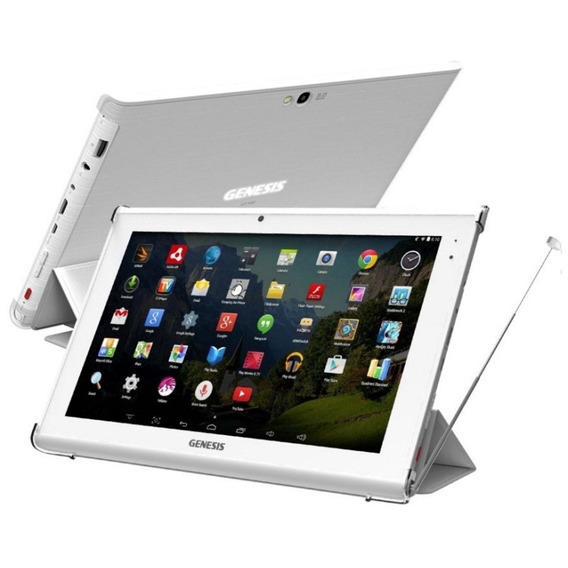 Tablet Genesis Gt-1450 Ips 10.1 8gb Wifi Hdtv Branco