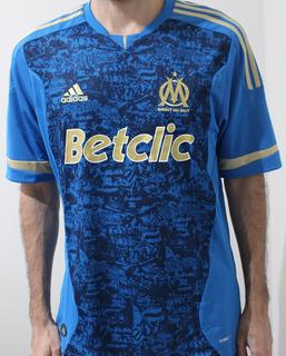 Camisa Olympique Marseille - Reserva 2011/12 - M - Nova