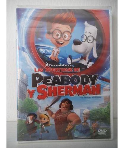 Las Aventuras De Peabody Y Sherman Dvd