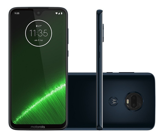 Smartphone Motorola Moto G7 Plus, 64gb, Tela 6.3 - Índigo