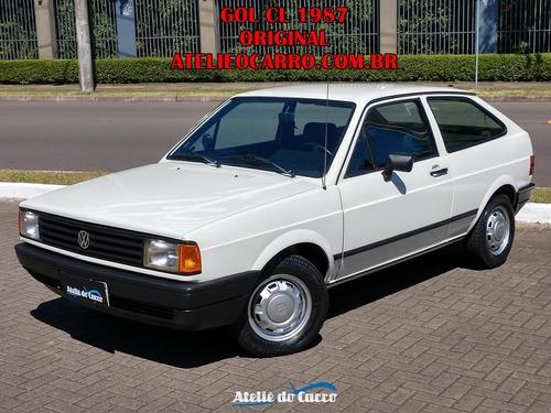 Imagem 1 de 15 de Gol Cl Ap1.6 1987 - Raro Neste Ano Conservado E Original