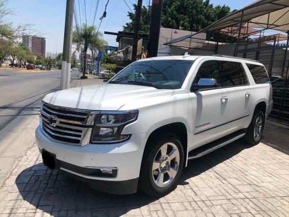 Chevrolet Suburban Premier 2018 Blanco