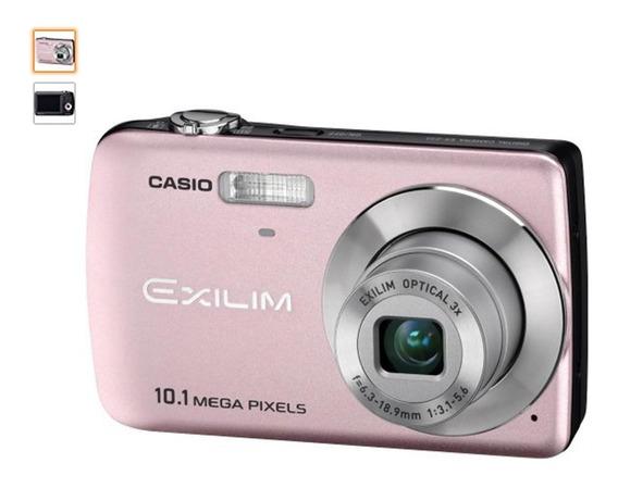 Cámara Digital Casio Ex-z33 10.1mp 2.5 Pulgadas (rosa Claro)