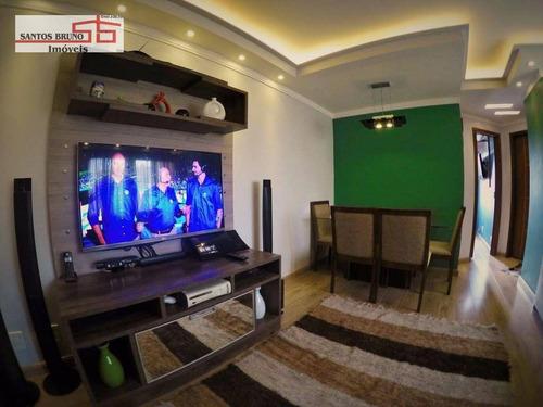 Apartamento Com 2 Dormitórios À Venda, 54 M² Por R$ 285.000,00 - Jardim Maristela - São Paulo/sp - Ap0589