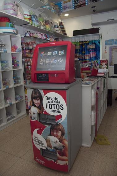Kiosk Mitsubishi Completo Com Impressora E Monitor Touch