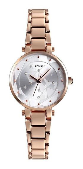 Reloj Femenino Minimalista Impermeable - Skmei