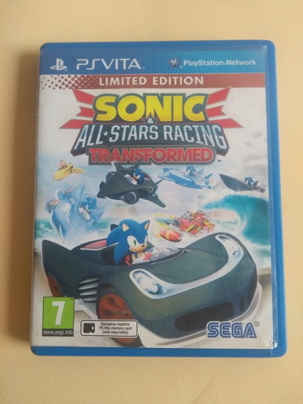 Sonic All-stars Racing Transformed Ps Vita