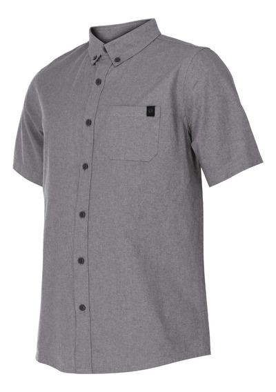Camisa Ripzone Playa Marley Gris