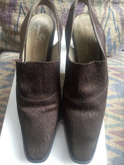 Zapato Mujer Gustavo Cassin Elastizados 35 Mb Estado