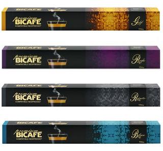 100 Cápsulas Para Nespresso - Café Premium - Cápsula Bicafé.