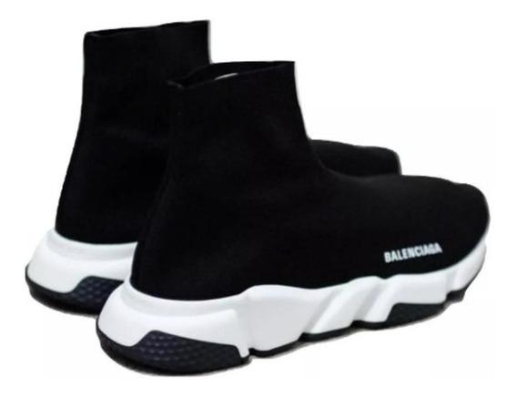Bota Zapatilla Balenciaga Negra Originales Dama 1.1