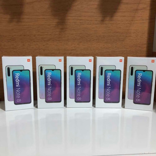 Xiaomi Redmi Note 8 64gb Preto Lacrado