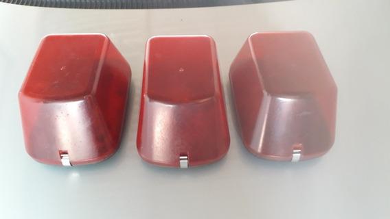 ( Kit 3 Cúpula Vermelhas) De Giroflex Asa Rotativo