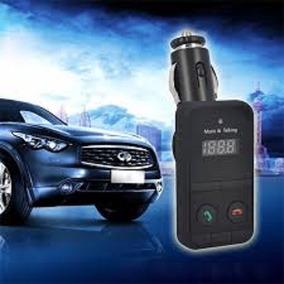 Mãos Livres Car Kit Mp3 Player Transmissor Fm Sem Fio Modula