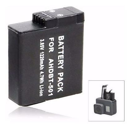 Bateria Recarregável Extra Gopro Hero 5 6 7 Black Go Pro