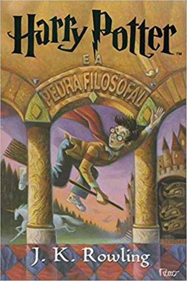 Livro Harry Potter - Vol 01 - A Pedra Filosofal