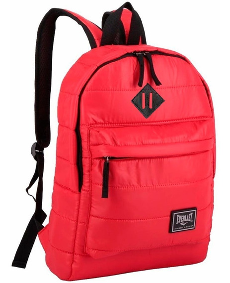 Mochila Escolar Urbana Universitaria Notebook Everlast