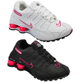 83e57571c13 Nike Shox Branco Tamanho 34 - Nike 34 no Mercado Livre Brasil