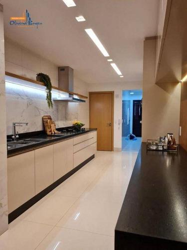 Imagem 1 de 24 de Apartamento Com 4 Dormitórios À Venda, 189 M² Por R$ 1.750.000 - Jundiaí - Anápolis/go - Ap0574