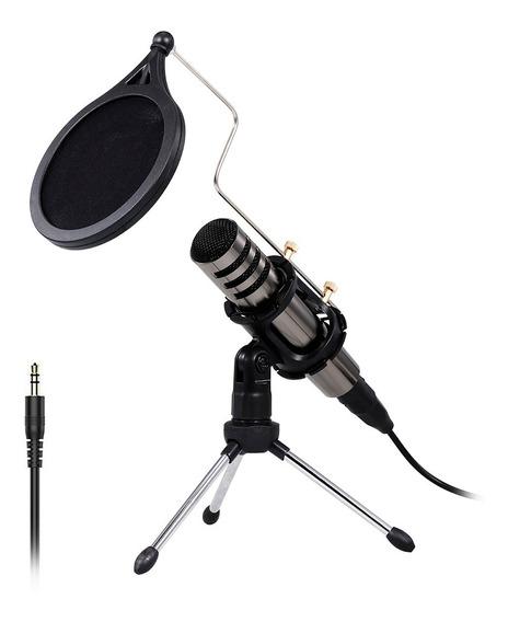 Microfone De Gravação De Microfone De Condensador Multifun