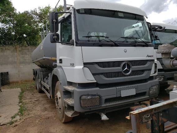 Mercedes-bens Axor 3131 6x4 Ano 2014 Tanque Pipa Gascom