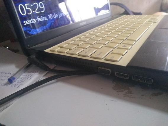 Notebook Sony Vaio I3 6gb Ram, 320gb Hd