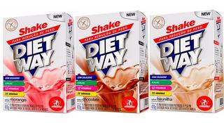 Kit 5 Diet Way Shake - 420 Gramas - Midway