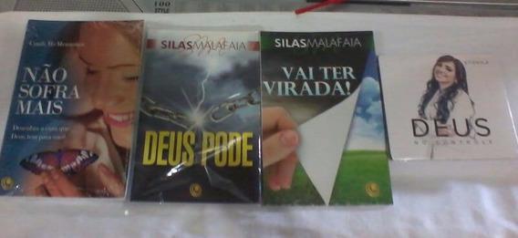 Livro Não Sofra Mais+ Silas Malafaia ,gratis Cd Eyshila