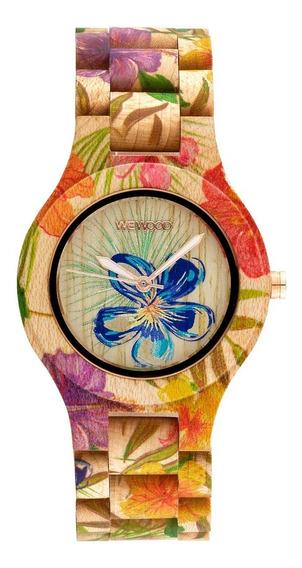 Relógios Wewood Antea Flower Beige