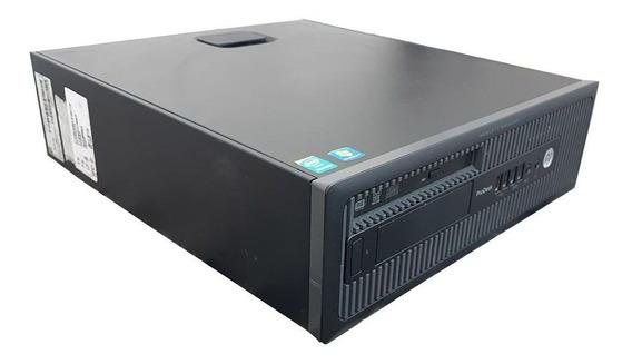Cpu Hp 600 Slim Core I5 4ªg 16gb Ddr3 Ssd 240gb Dvd-rw Wifi