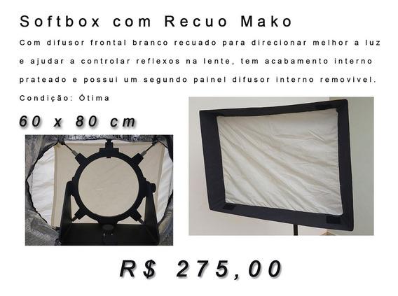 Softbox (difusor) Com Recuo - Mako