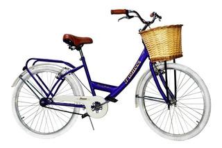 Bicicleta Dama Vintage Pioneer Rdo 26 - Cuadro Reforzado!!